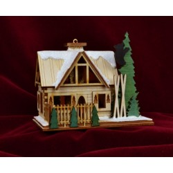 Ginger Cottage - Santa's Ski Lodge