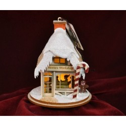 Ginger Cottage - Santa's Workshop