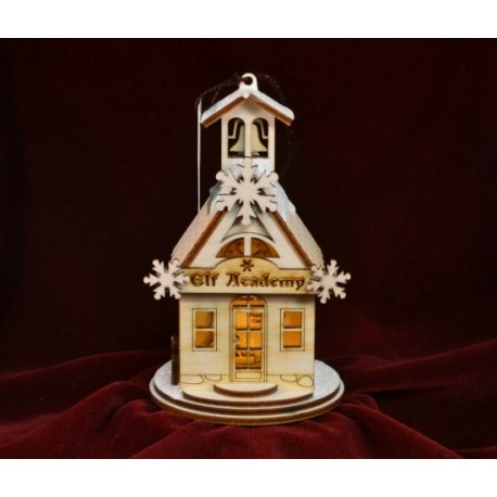 Ginger Cottage - Elf Academy One-room Schoolhouse