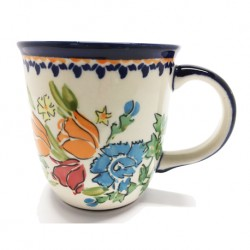 Mug - 12 oz - Orange Roses - Unikat