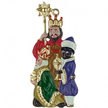 Three Kings Pewter Ornament