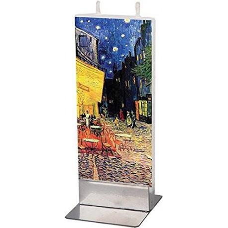 Flat Candle - Cafe Terrace Van Gogh