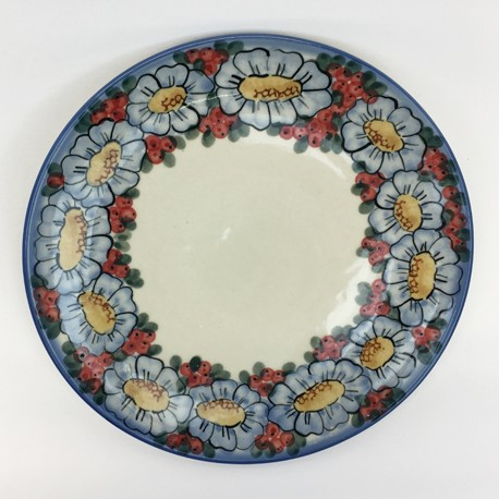"Plate - 10"" - Red Berries"