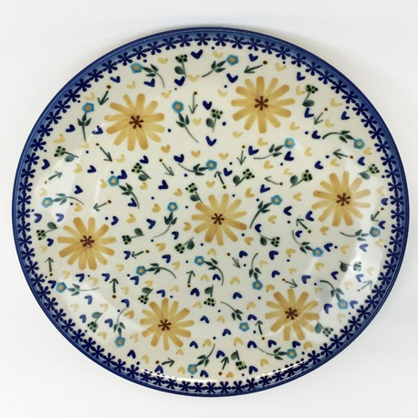 "Plate - 10"" - Daisies"