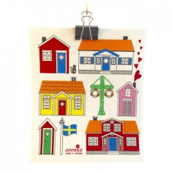 Swedish Dishcloth Cottages