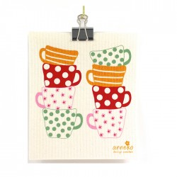 Swedish Dishcloth Cups