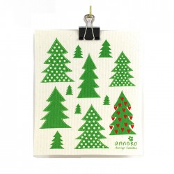 Swedish Dishcloth Trees