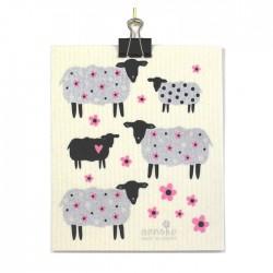 Swedish Dishcloth Sheep
