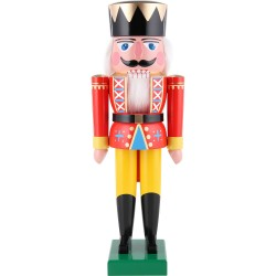 Christmas Nutcracker - Traditional Red King