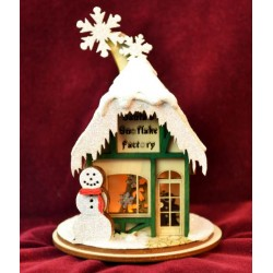 Ginger Cottage - Santa's Snowflake Factory