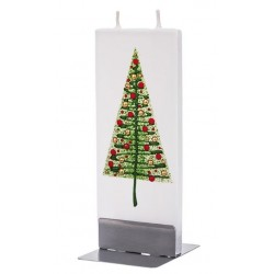 Flat Candle Modern Christmas Tree