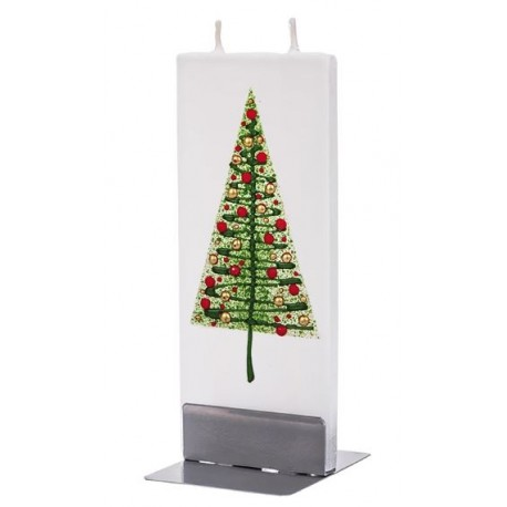 Flat Candle Modern Christmas Tree