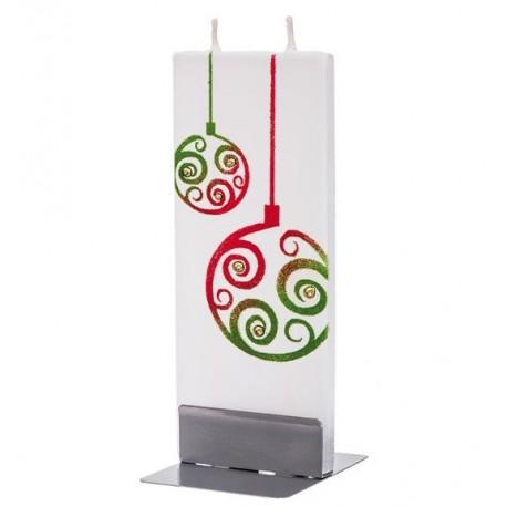 Flat Candle - Ornaments