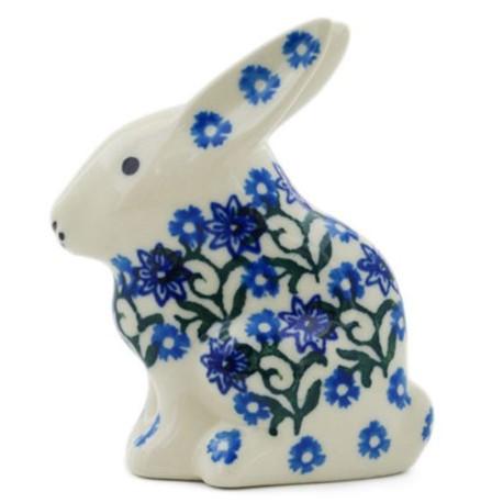 Rabbit Figurine - Daisy Lace