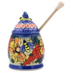 Honey Jar - Festive Flowers - Unikat