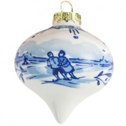 Delft Blueware Christmas Drop