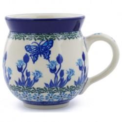 Bubble Mug - 12 oz - Blue Butterfly
