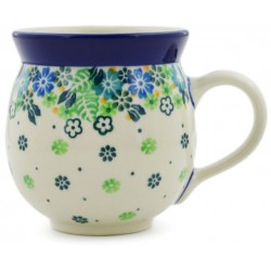 Bubble Mug - 12 oz - Tropical Flowers