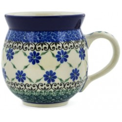 Bubble Mug - 12 oz - Royal Lattice