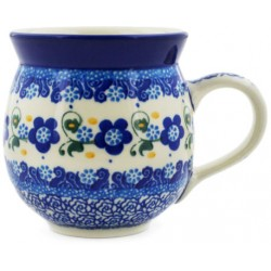Bubble Mug - 12 oz - Forget-Me-Not