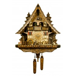 Engstler Chalet-Style Quartz Cuckoo Clock