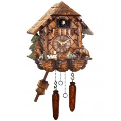 Engstler Quartz Cuckoo Clock with Bears