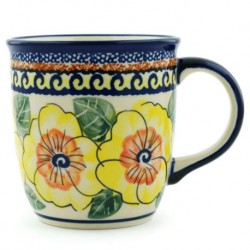 Mug - 12 oz - Lemon Poppies - Unikat