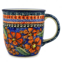 Mug - 12 oz - Red Poppies - Unikat