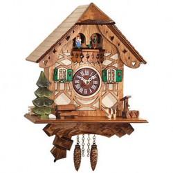 Engstler Quartz Clock Half-Timbered House