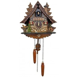 Engstler Quartz Cuckoo Clock with Trees