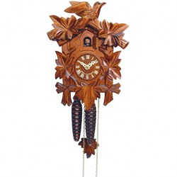 Small Engstler One-Day Mechanical Cuckoo Clock with Bird