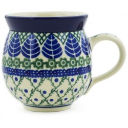 Bubble Mug - 12 oz - Leaf Lattice