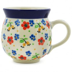 Bubble Mug - 12 oz - Colorful Garden