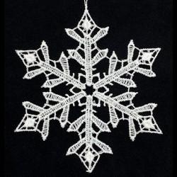 Lace Ornament - Snowflake A