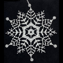 Lace Ornament - Snowflake C