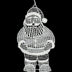 Lace Ornament - Santa