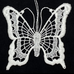 Lace Ornament - Butterfly