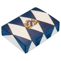 Polish Wooden Box - Bavarian Flag