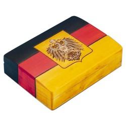Polish Wooden Box - German Flag