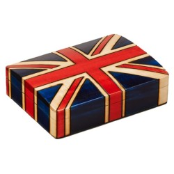 Polish Wooden Box - British Flag
