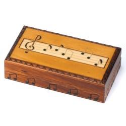 Polish Wooden Box - Musical Bar