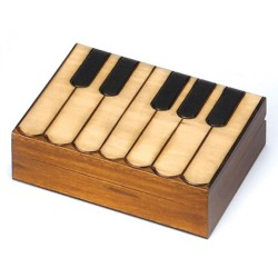 Polish Wooden Box - Keyboard