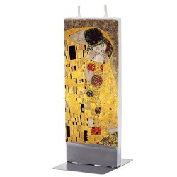 Flat Candle - The Kiss by Klimt