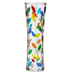 Italian Glass Vase - Tree of Life Small Multicolor