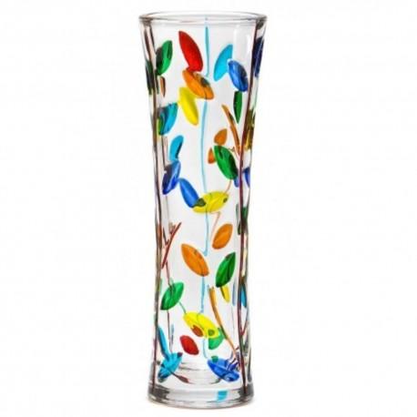 Italian Glass Vase - Tree of Life Small Multicolor
