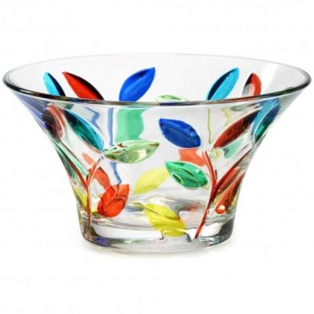 Italian Glass Bowl - Tree of Life Small Multicolor