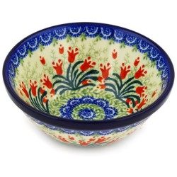 "Bowl - 5.5"" - Crimson Bells"