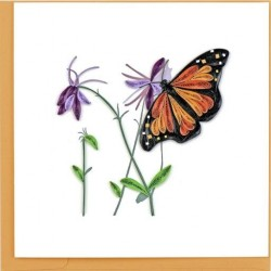 Quilling Card - Monarch Butterfly