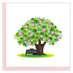 Quilling Card - Spring Tree