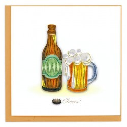 Quilling Card - Beer